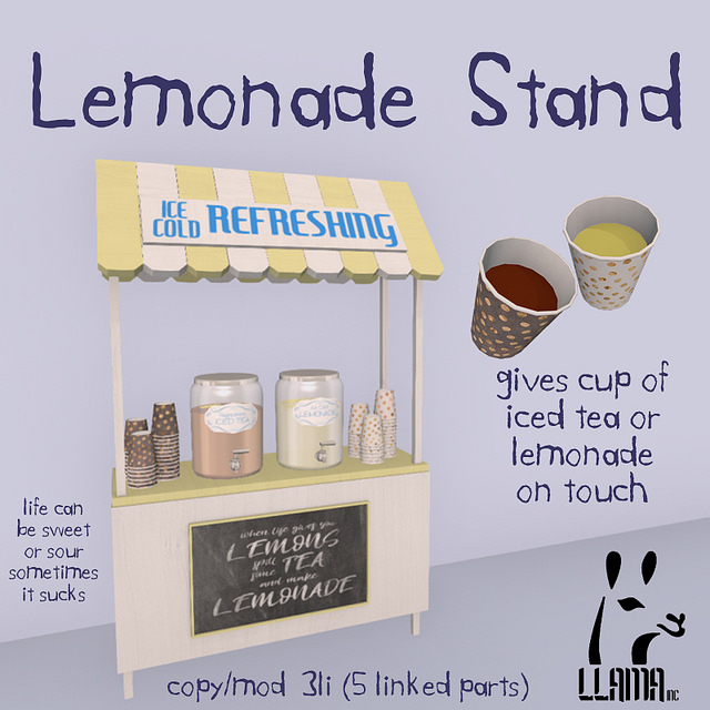 Llama Inc.  - Lemonade Stand - SaNaRae.jpg