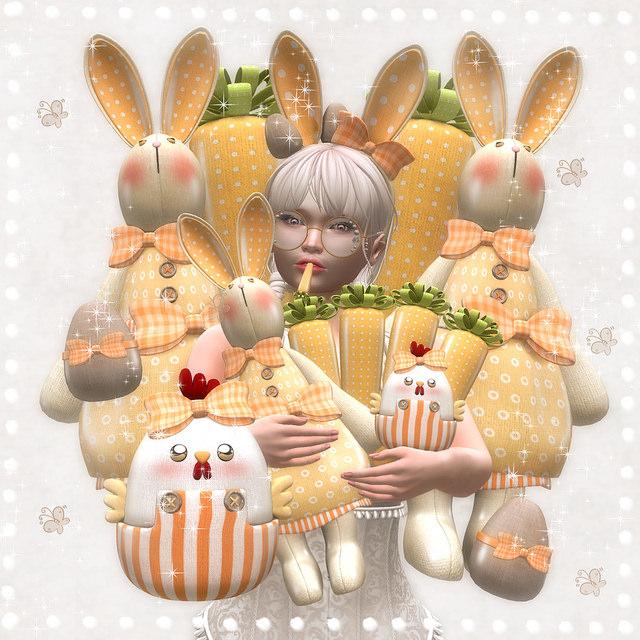 Les Sucreries de Fairy - Lil Easter Bunny gacha display - SaNaRae.jpg
