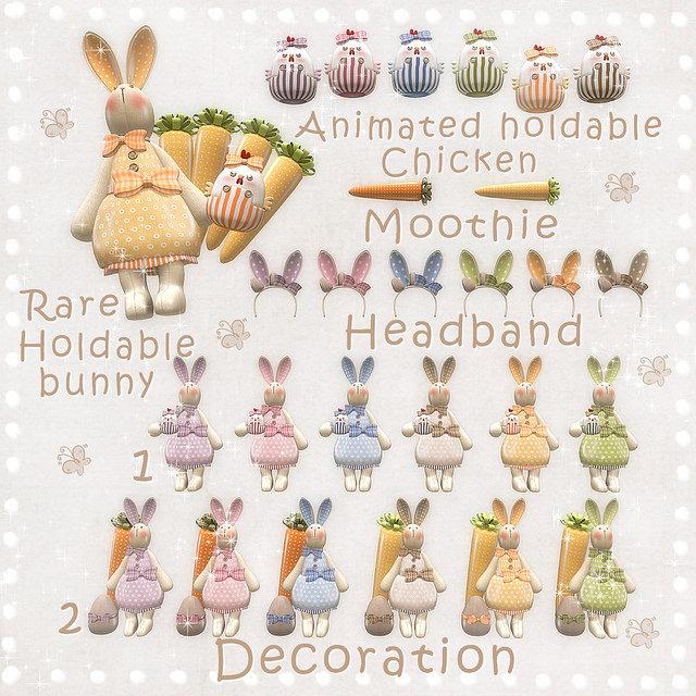 Les Sucreries de Fairy - Lil Easter Bunny gacha KEY - SaNaRae.jpg