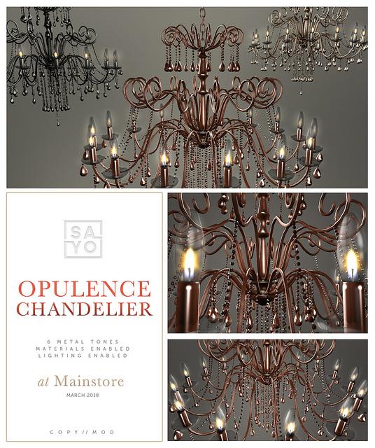 SAYO - Opulence chandelier - Mainstore release.jpg
