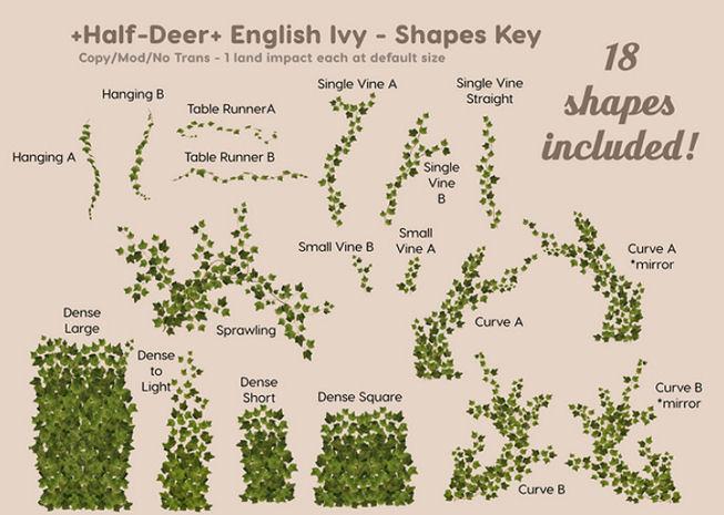 Half-Deer - English Ivy Shapes- C88.jpg