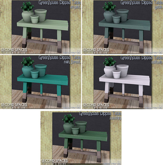 Second Spaces - Greenhouse Dipped Table All Colours - C88.jpg