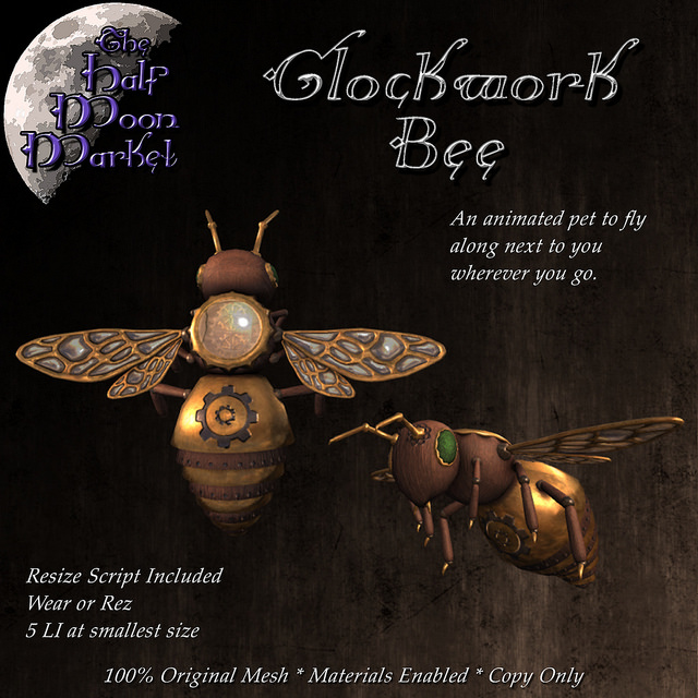 The Half Moon Market - Clockwork Bee - TFC.jpg