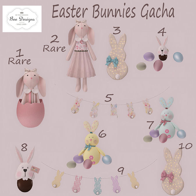 Bee Designs - Easter Bunnies Gacha - Cosmopolitan Event.jpg