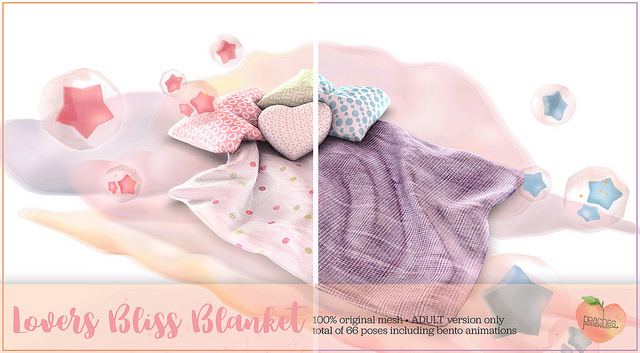 .Peaches. - Lover's Bliss Blanket - The Saturday Sale.jpg