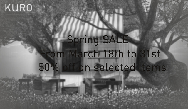 KURO Spring Sale - 50% off selected items.jpg