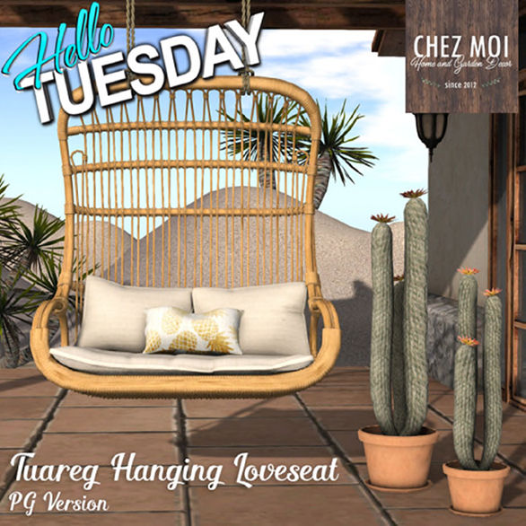 CHEZ MOI Tuareg Loveseat PG - Hello Tuesday.jpg