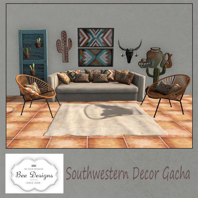 Southwestern Designs | Bee Designs Southwestern Gacha Ltd