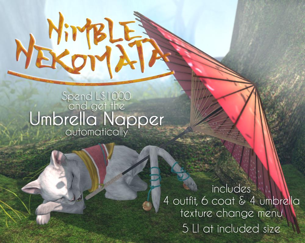 JIAN - Umbreller Napper VIP prize - Lootbox gacha.png