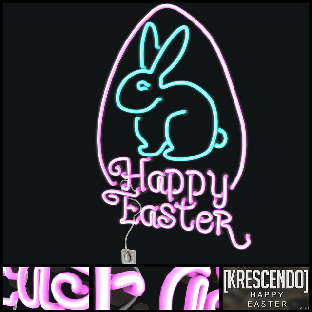 KRESCENDO - HAPPY EASTER NEON