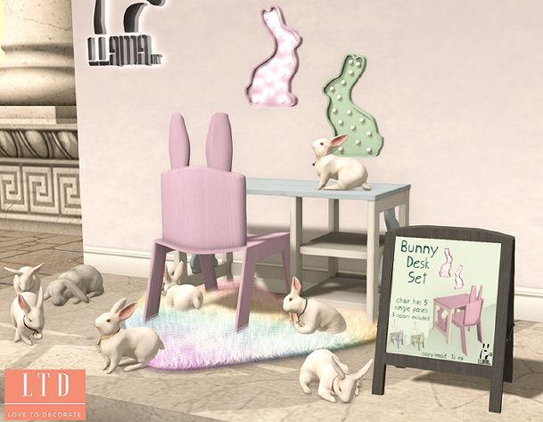 Llama Inc - Bunny Desk Set - SaNaRae.jpg