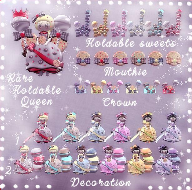 Les Sucreries de Fairy - Sweet Queen gacha KEY - SaNaRae.jpg