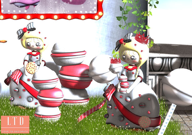 Les Sucreries de Fairy - Sweet Queen gacha display - SaNaRae.jpg
