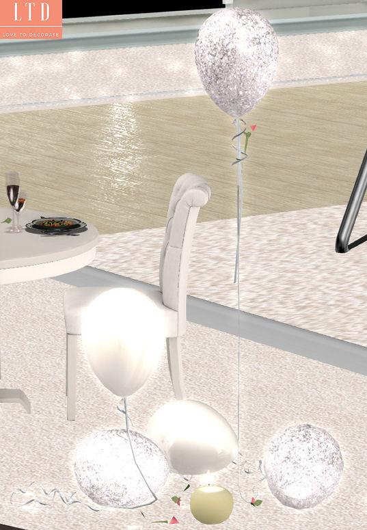 Celestina's Weddings - Dynasty Glittering Balloons - Sense.jpg