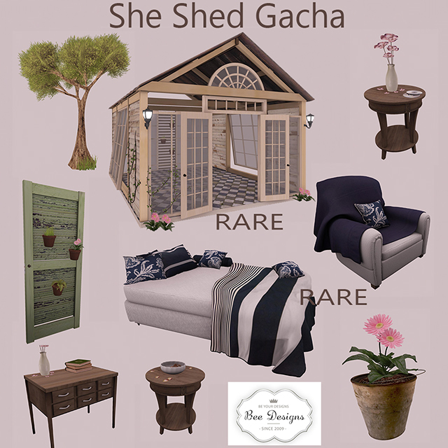 Bee designs She Shed Gacha 35L$(50%OFF).jpg