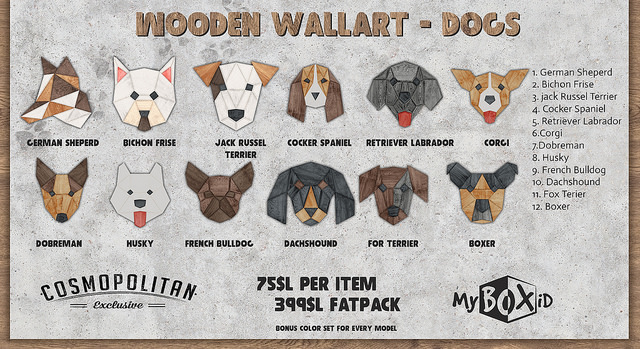 MyBOXid - Wooden Wallart Dogs - Cosmopolitan Event.jpg