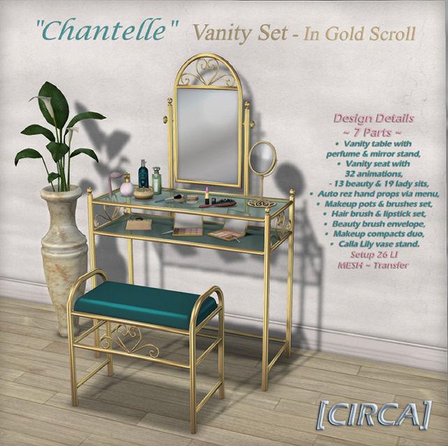 Circa Living - Chantelle Vanity Gold Scroll - SWANK.jpg