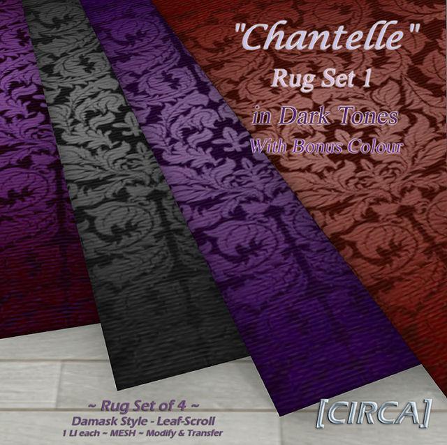 Circa Living - Chantelle Area Rug Set Dark Tones - SWANK.jpg