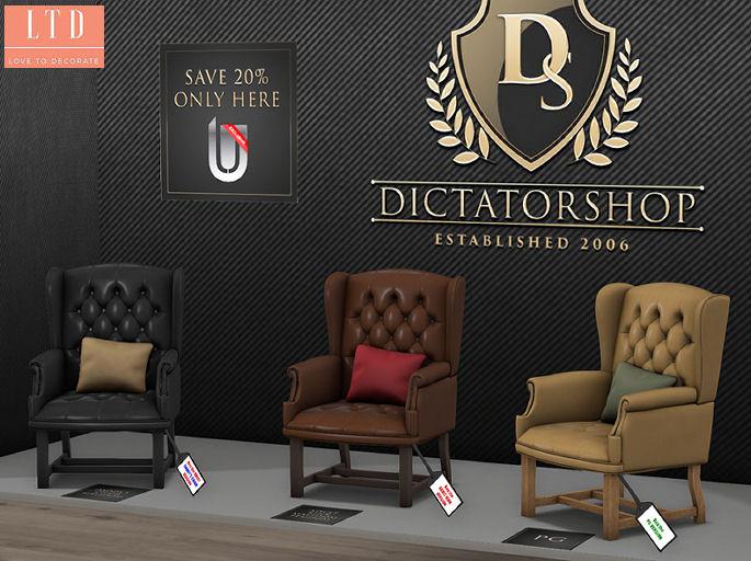 Dictatorshop - Chesterfield Wingback Chair display - ULTRA.jpg