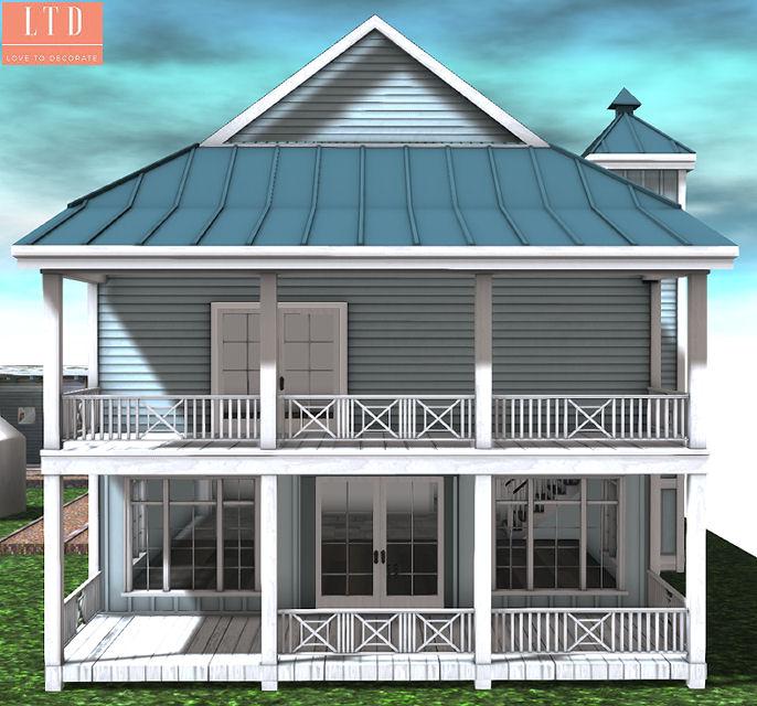 Galland Homes - Cape Hatteras Rear elevation - ULTRA.jpg
