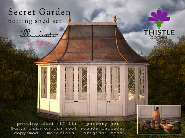 Thistle Homes - Secret Garden Potting Shed Set - Illuminate.jpg