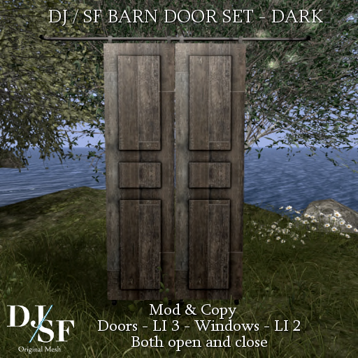 DJ - SF - Barn Door set Dark - Shiny Shabby.png