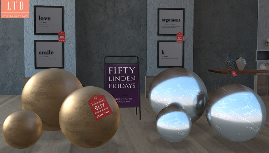 Blue Sky - sphere decor set - Fifty Linden Friday.jpg
