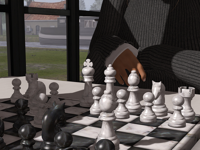The Chess Pieces in detail