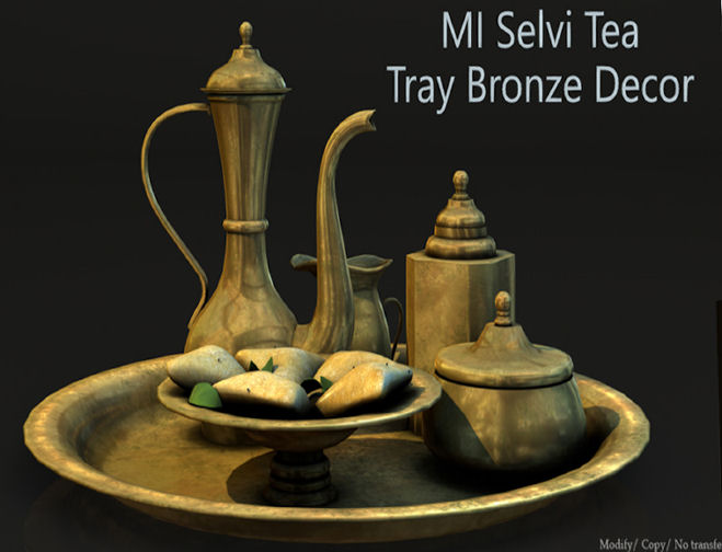 Mesh India - Selvi Tea tray Bronze- Cosmopolitan.jpg
