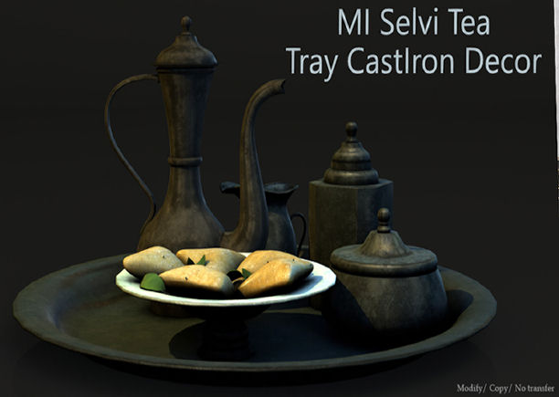 Mesh India - Selvi Tea tray Cast Iron- Cosmopolitan.jpg