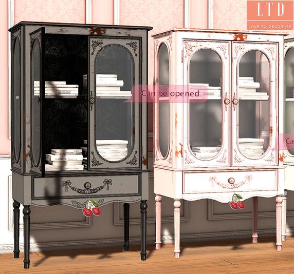 Cherry House - Vintage Bookcase2 - SaNaRae.jpg