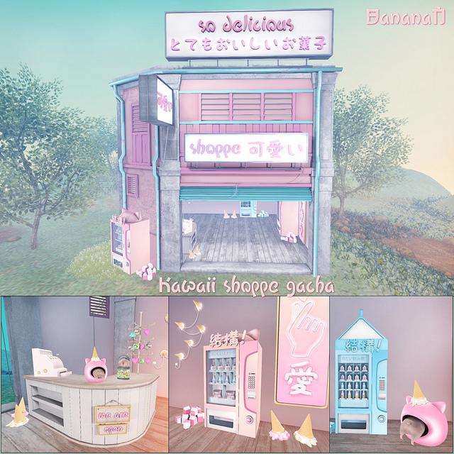BananaN - Kawaii Shoppe gacha - Gacha Garden.jpg
