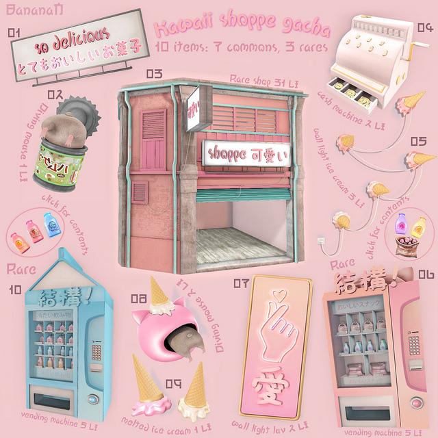 BananaN - Kawaii Shoppe gacha KEY - Gacha Garden.jpg