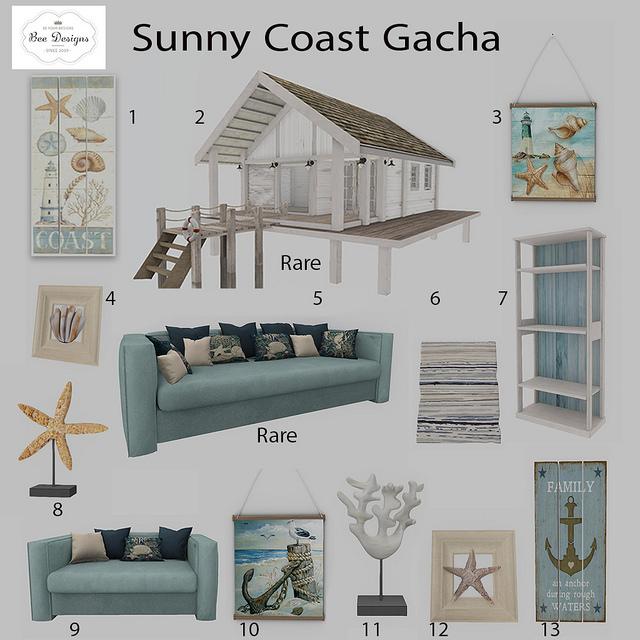 Bee Designs - Sunny Coast gacha KEY - The Gacha Garden.jpg