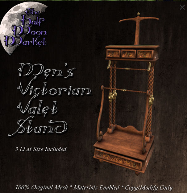 The Half Moon Market - Men's Victorian Valet Stand - We Love RP.jpg