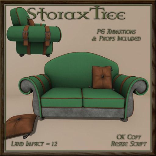 STORAX TREE - VAGABOND SET