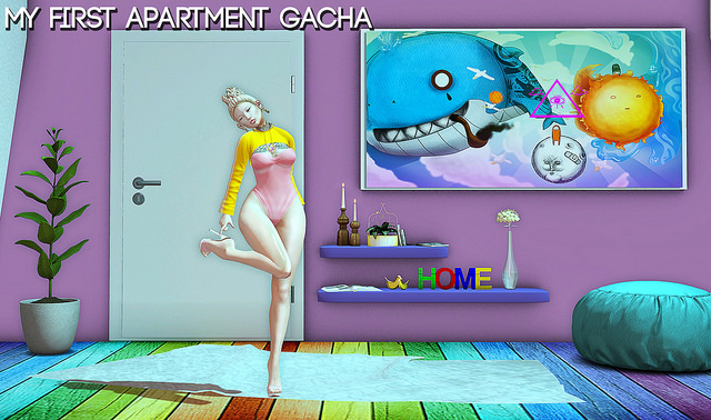 nyne - my first apartment gacha display - ON9.jpg