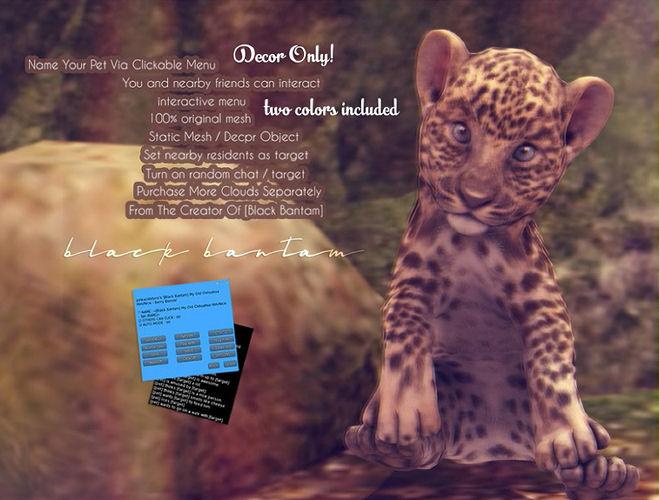 Black Bantam - Leopard Decor - The Fantasy Collective.jpg