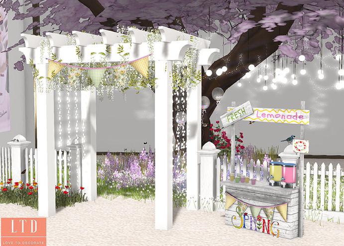 Celestinas Weddings - Fresh Spring Set display - SWANK.jpg