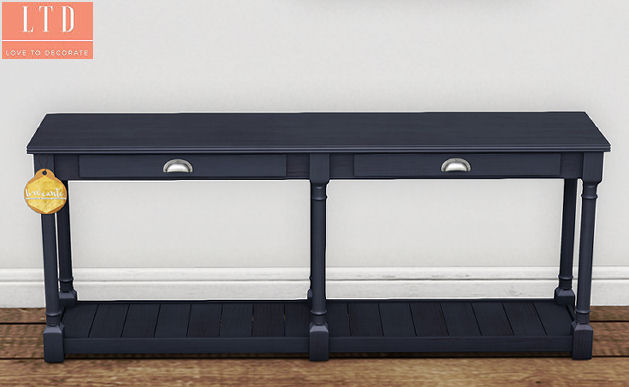 Brocante - Navy Console Table close-up - FLF.jpg