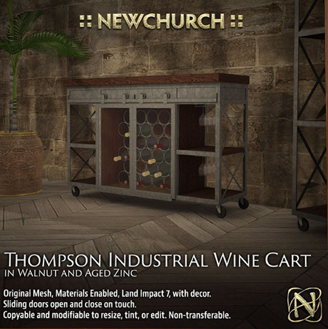 Newchurch - Thompson Industrial Wine Cabinet - Ultra.jpg