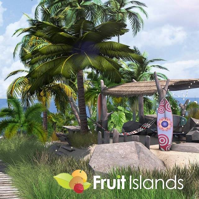Fruit Islands - Fruit islands has over 130 sims, with listings changing every day.Visit their rental office for an up-to-date list of available parcelsTELEPORT TO THE FRUIT ISLANDS OFFICE