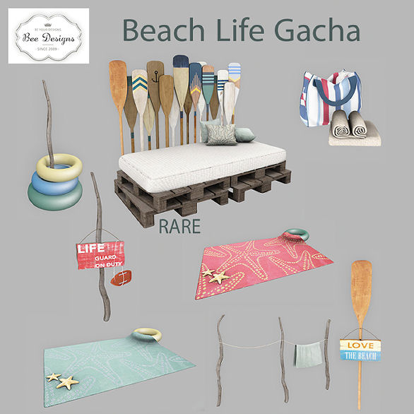 Bee Designs Beach Life Gacha 25L$(50%OFF).jpg