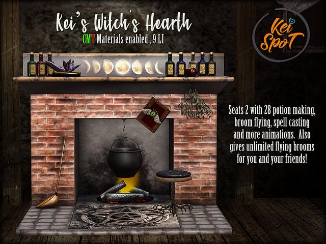 KEI SPOT - KEI'S WITCH'S HEARTH — LTD