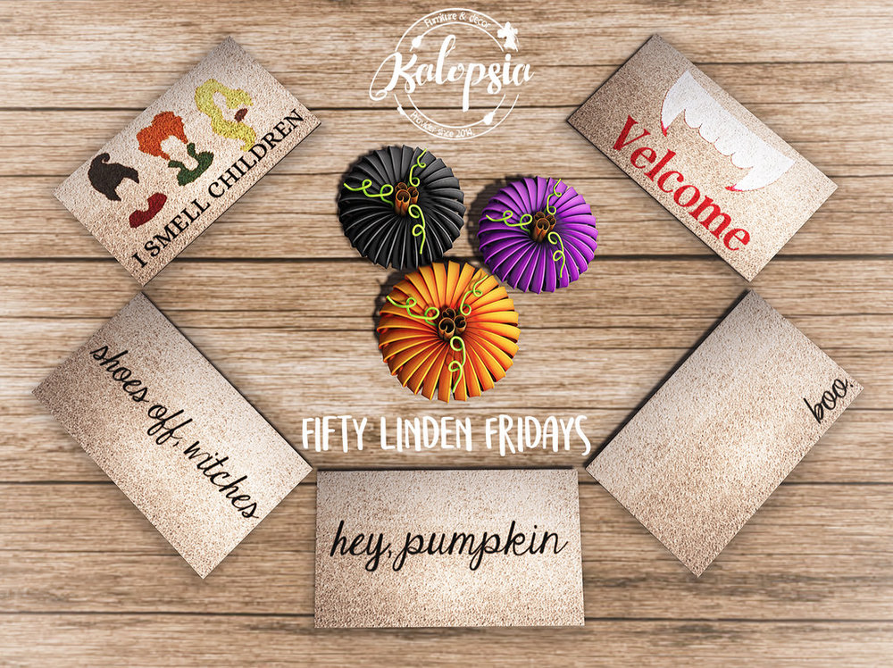 Kalopsia - Welcome Mats & Metal Pumpkin - FLF.jpg