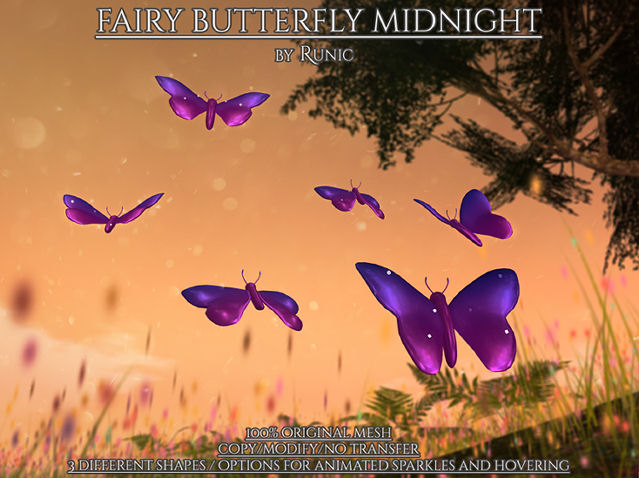 Runic - Fairy Butterfly Set Midnight - We Love Role-Play.jpg