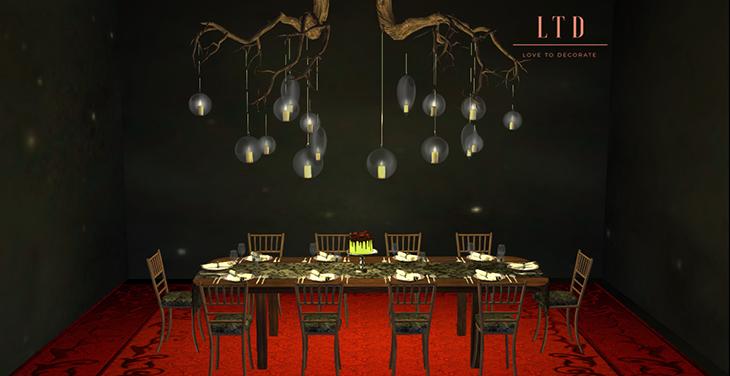 Groovy Aphrodite Halloween Dinner Table Set Ltd Download Free Architecture Designs Scobabritishbridgeorg