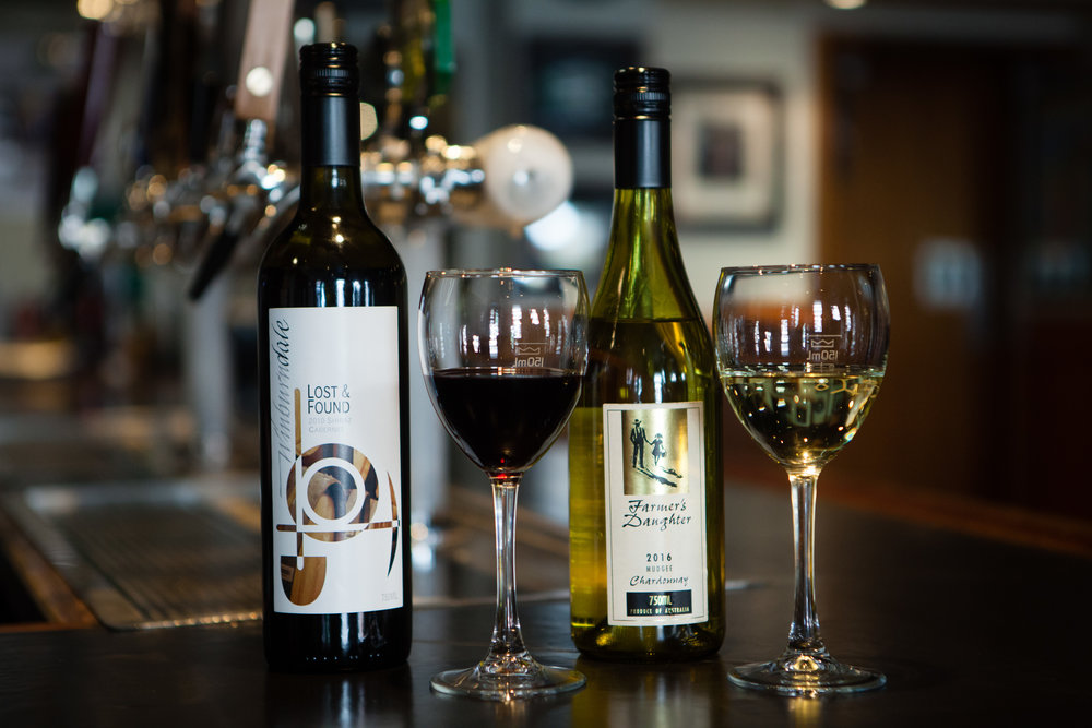 Choose from our selection of premium regional  and international wines