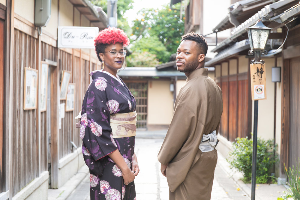 Family and couple photoshoot tour with Photoguider in Kyoto, Japan