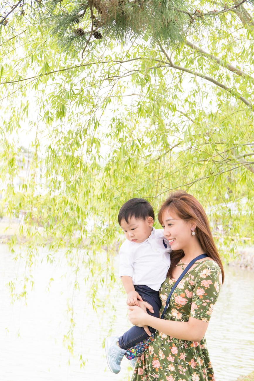 Family Photoshoot tour in Nara, Japan